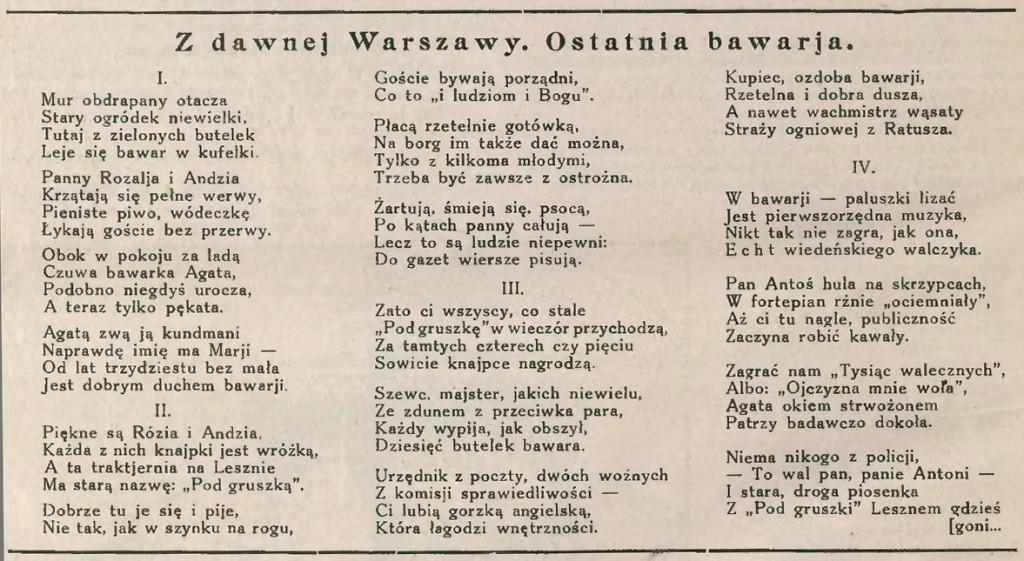 1929 - Bawar - wierszyk