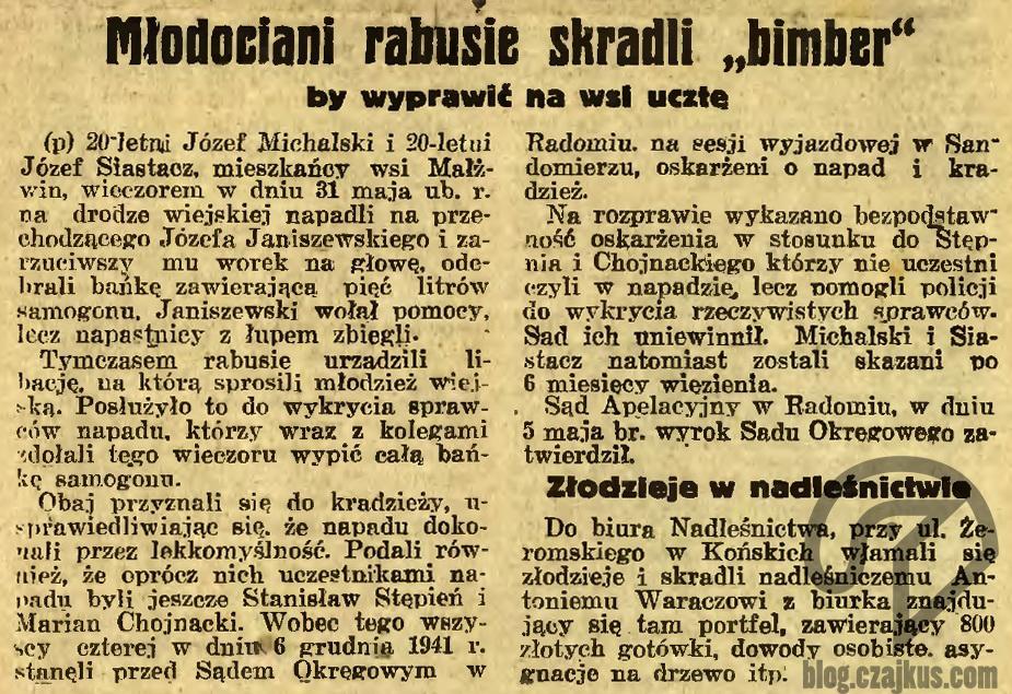 1942 - Bimber