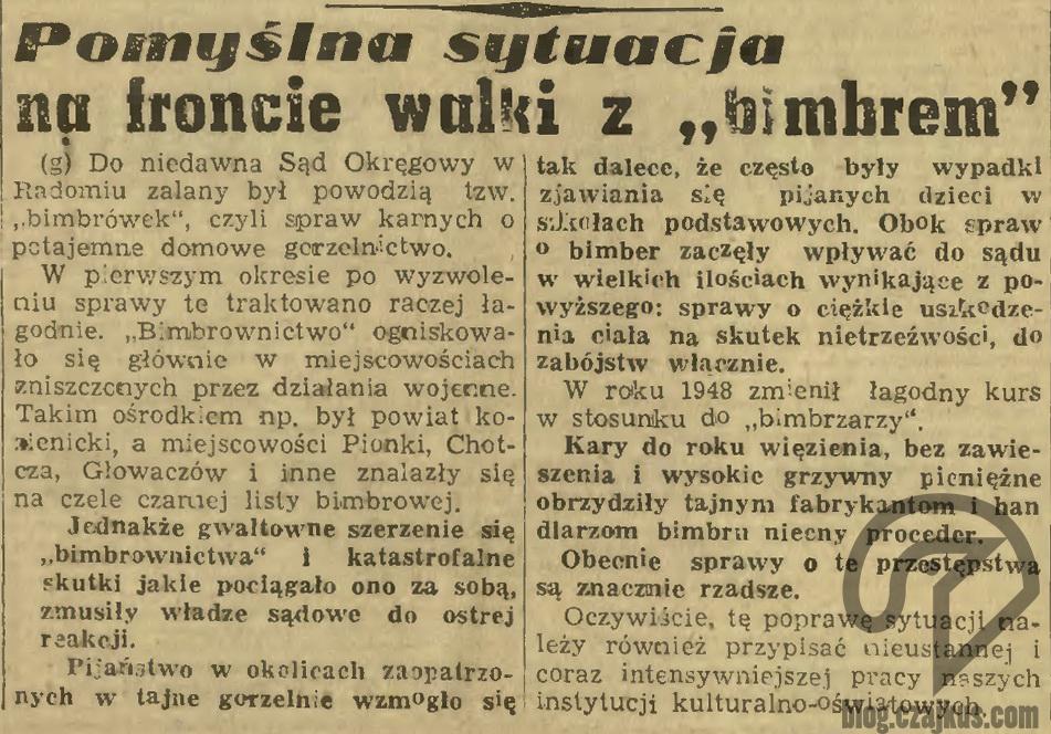 1949 - Bimber