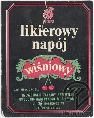 LikierowyNapój Wiśniowy325