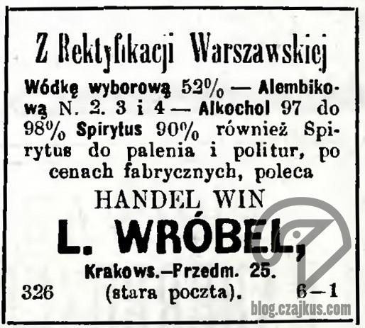 1889 - WyborowaW