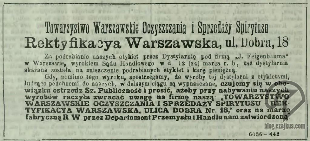 1892 - RW WybornaW