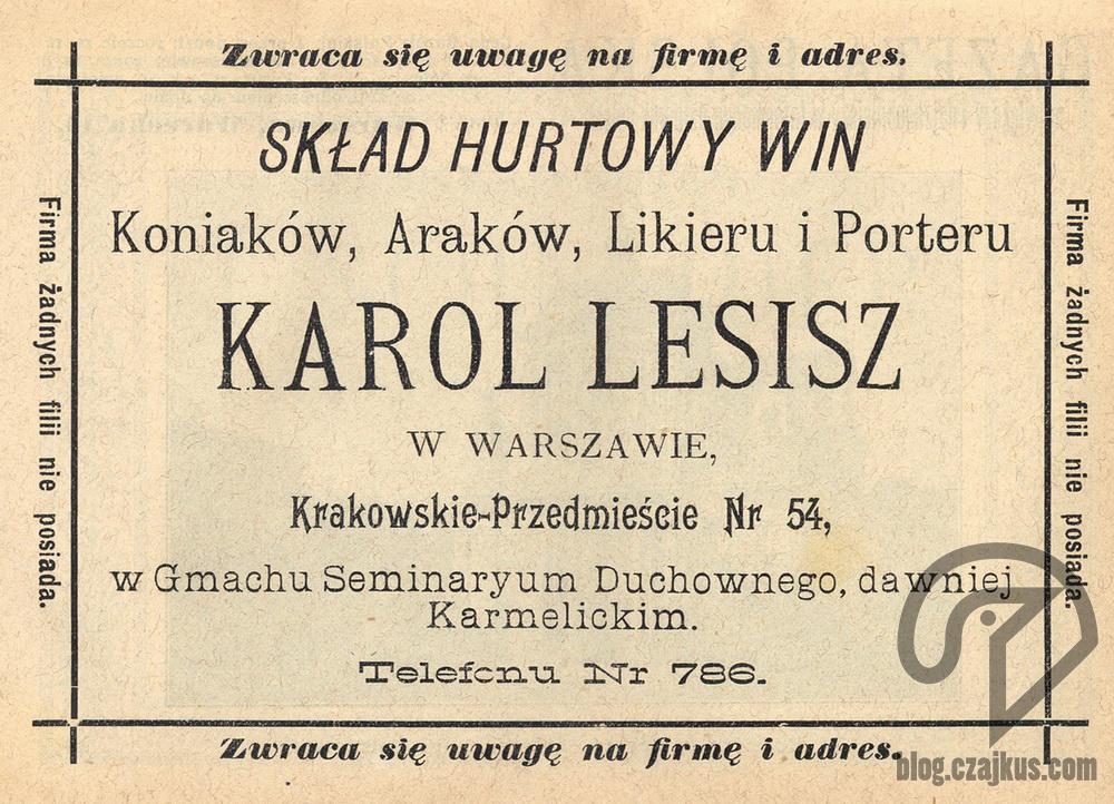 1897 Karol Lesisz