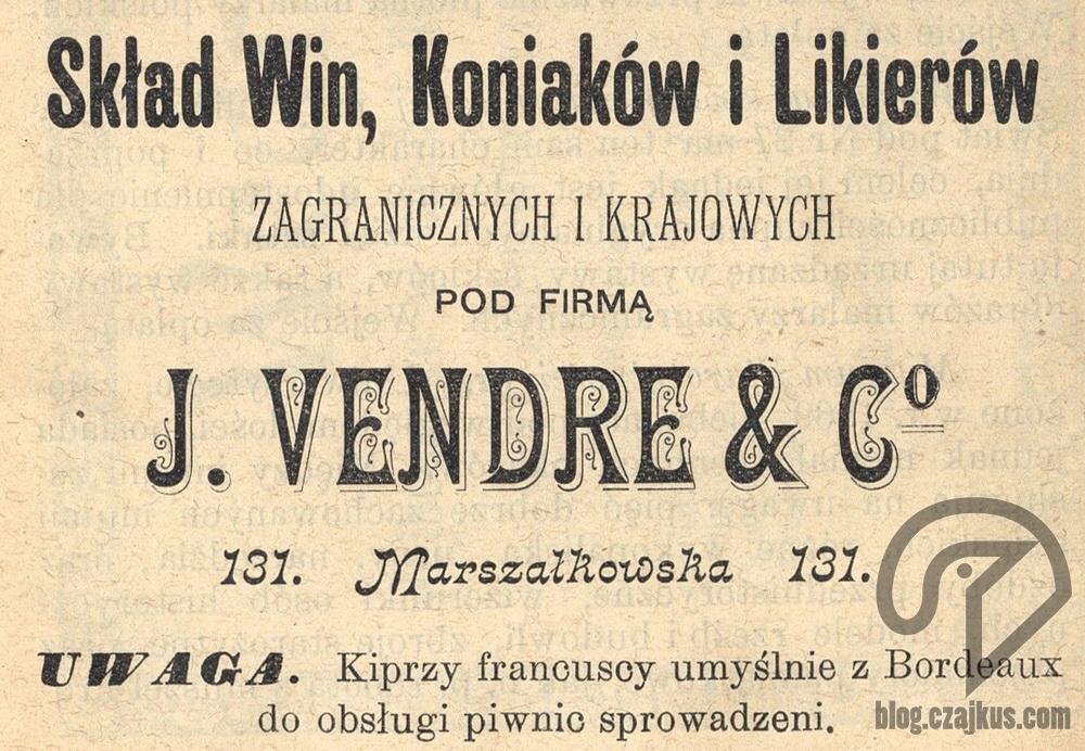 1897 Skład Win Vender