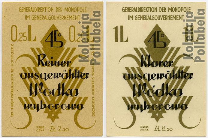 1939-45 - Wyborowa GG x2
