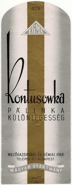 1940s Kontuszowka 17x7cm2