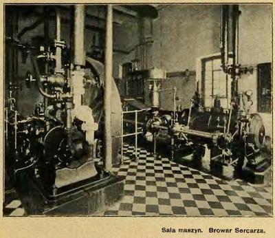 Browar Sercarza sala maszyn - 400