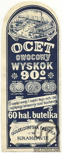 Dusseldorfska Fabryka, Kraków - Ocet okW500