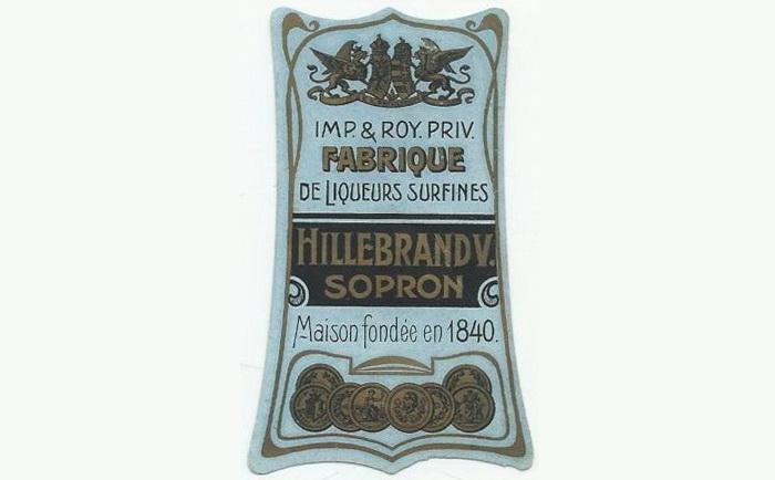 Hillebrand Vincenz, Sopron - 1880s 8x5 2