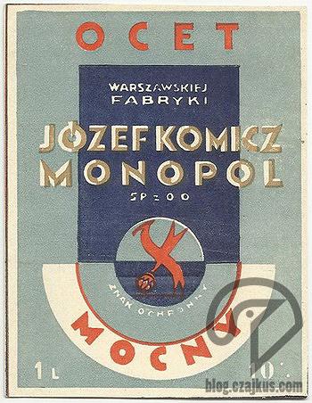 Komicz Józef, Warszawa - Ocet Mocny okW