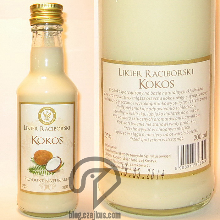 Likier Raciborski Kokos