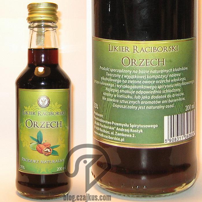 Likier Raciborski Orzech