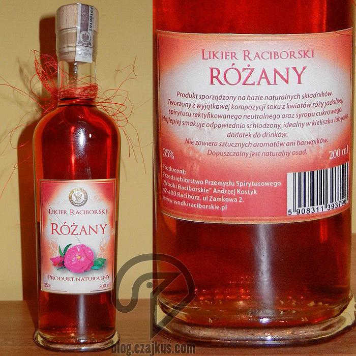 Likier Raciborski Różany