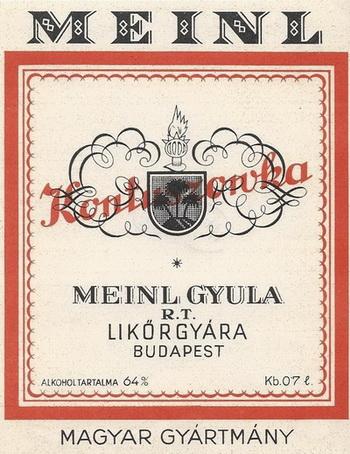 Meinl Julius Kontuszówka 1920s - 350