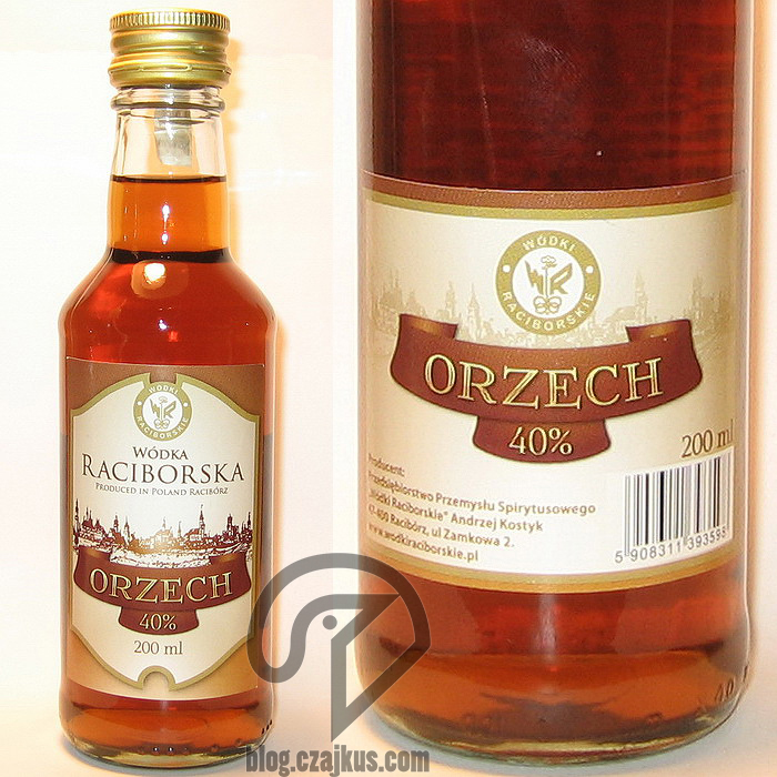 Wódka Raciborska Orzech