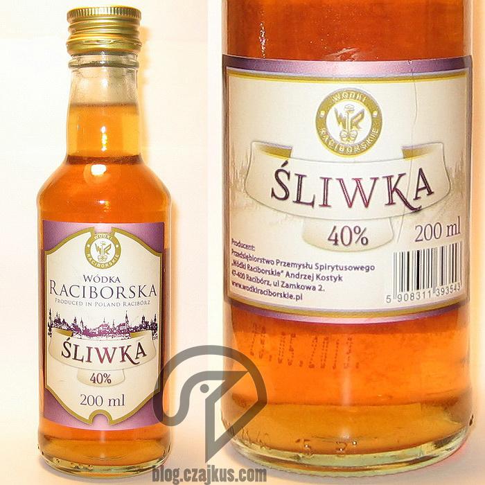 Wódka Raciborska Śliwka 40%