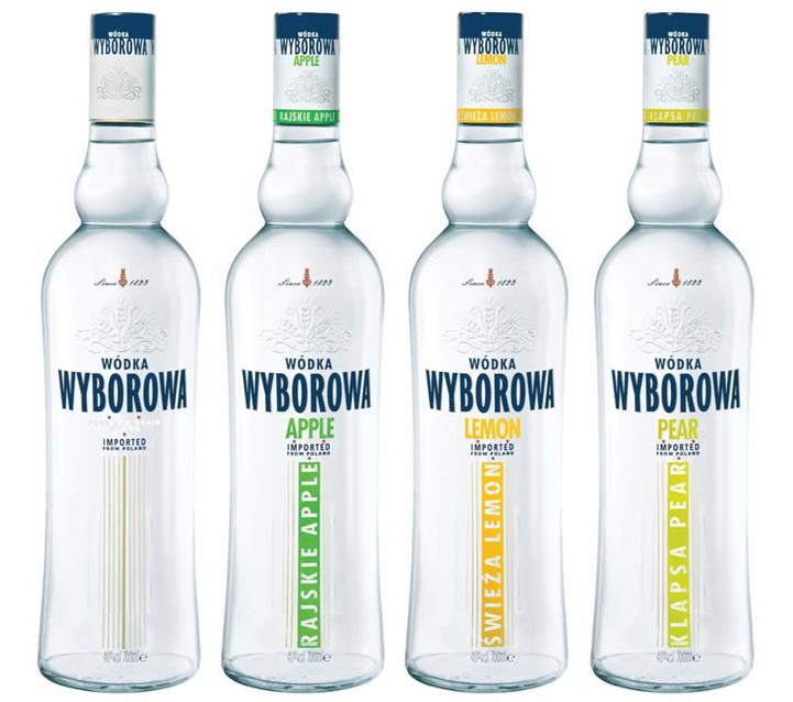 Wyborowa Poprzednie butelki