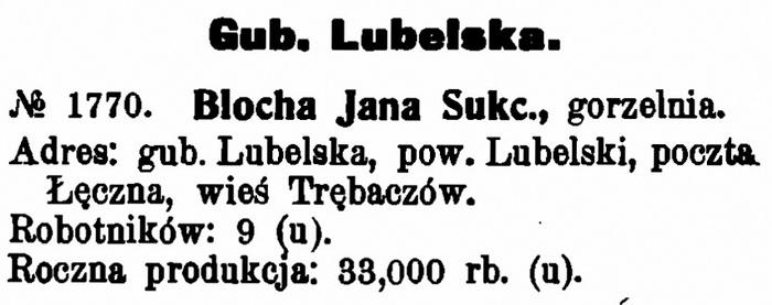 1909 - Trębaczów