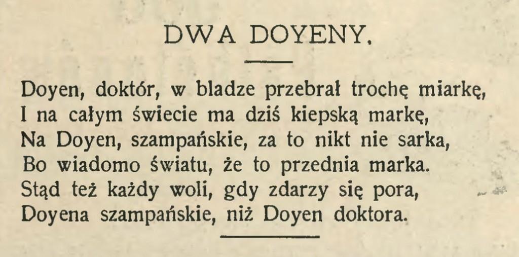 1910 wierszyk