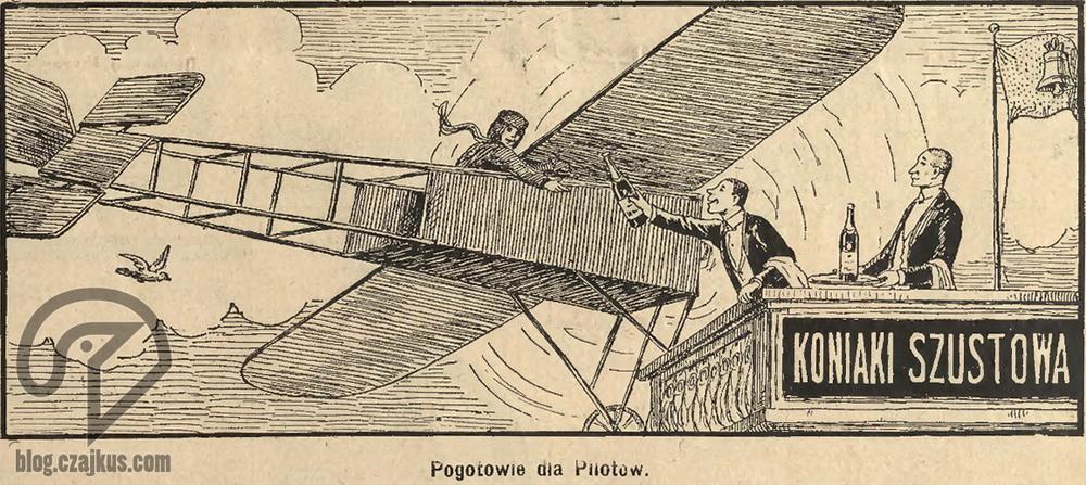 1914 Szustow Pogotowie dla pilotówW