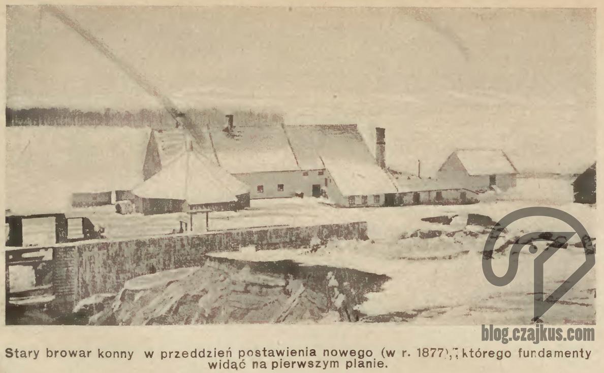 Browar wDrozdowie 1877 W