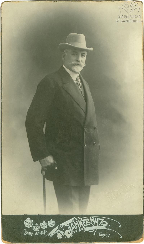 David Sarajishvili Saradżew Foto Gankevichi recto