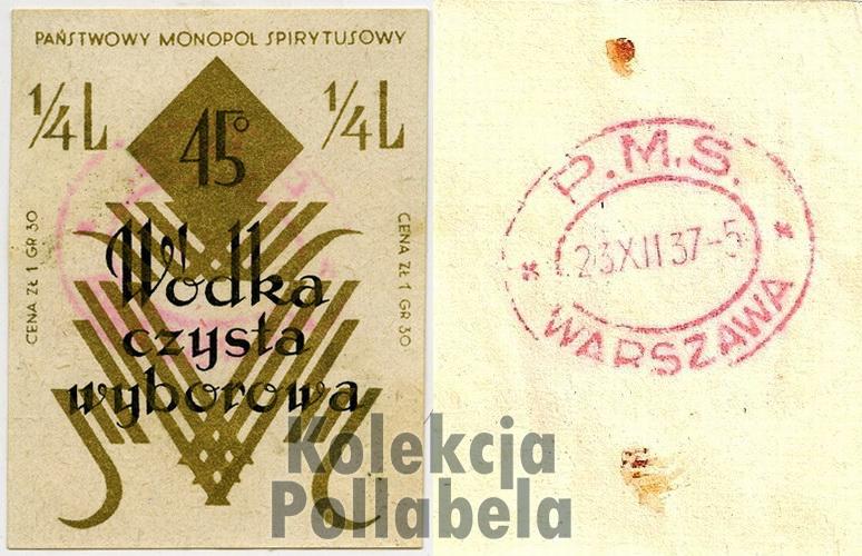 1937 - Wyborowa