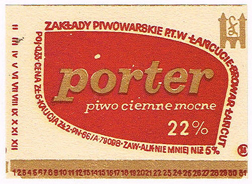 Browar Łańcut Porter 2