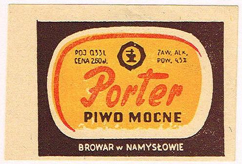 Browar Namysłów Porter 1