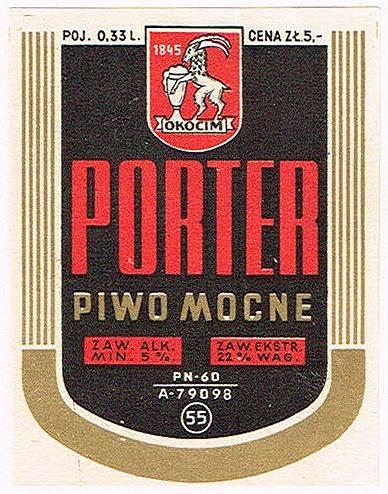 Browar Okocim Porter 1