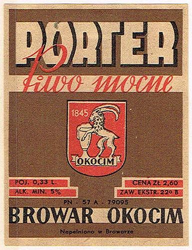 Browar Okocim Porter 3