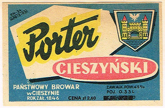 Browar wCieszynie Porter 1