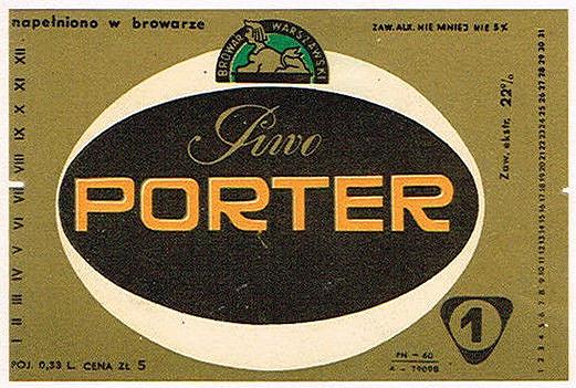 Browar Warszawa Porter 3