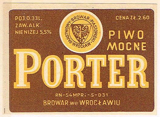 Browar Wrocław Porter 3