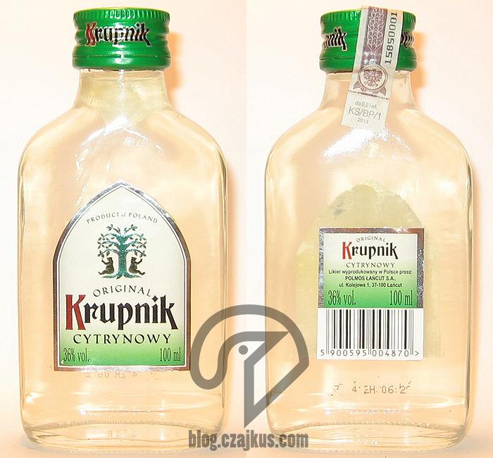 Krupnik Cytrynowy