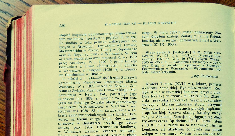 Marian Kiwerski biogram PSB 1