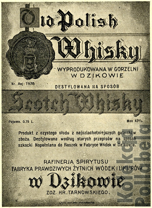 Old Polish Whisky Dzików2