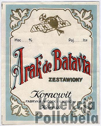 Arak de Batavia Kornowit