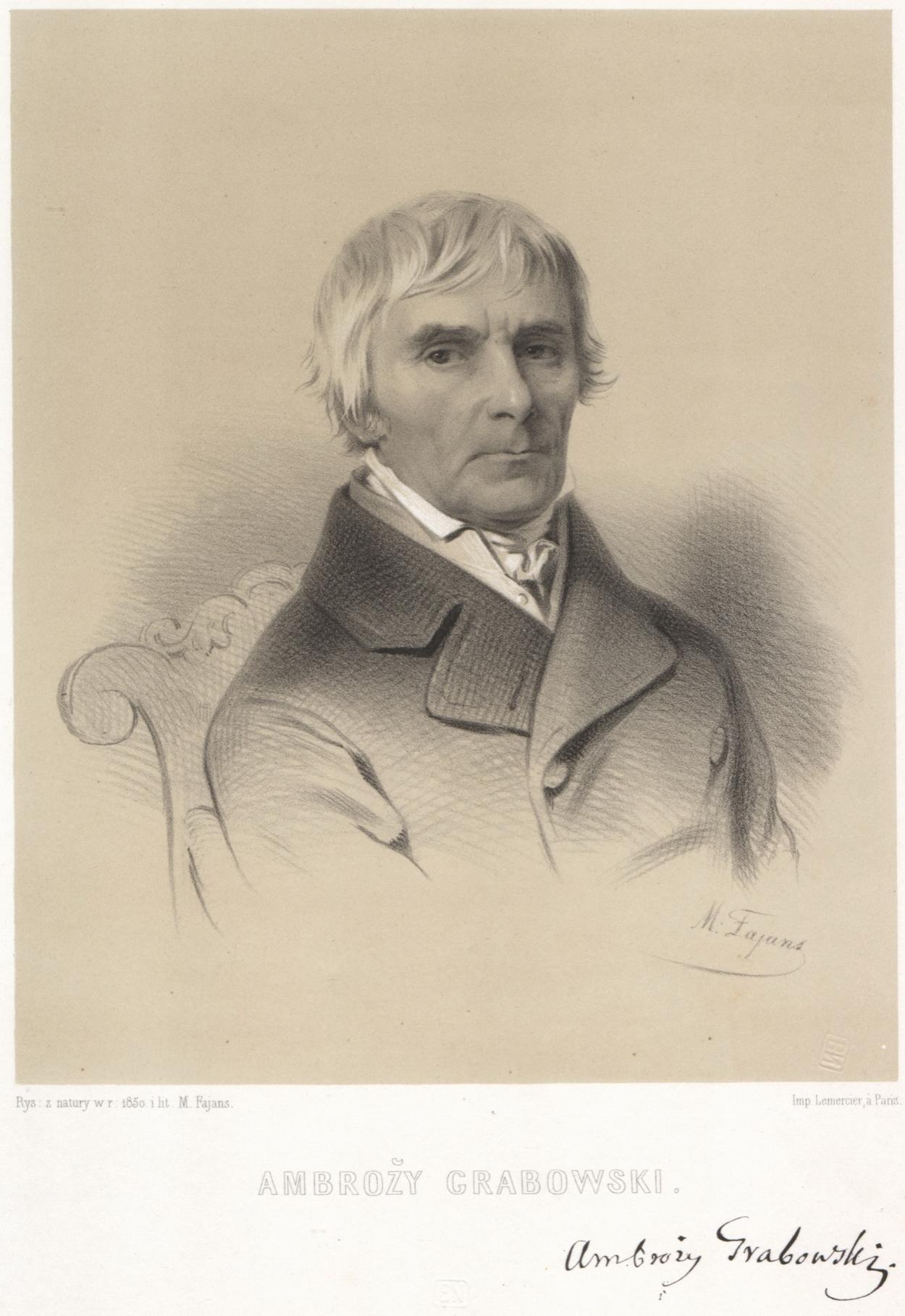 1850 - Ambroży Grabowski