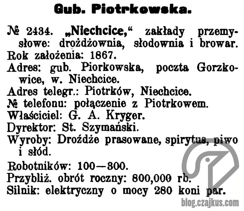 1909 - Niechcice2