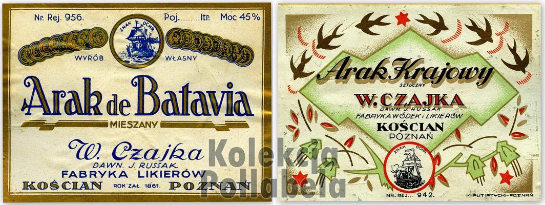 Arak de Batavia CzajkaW