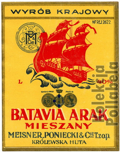 Batavia Arak Meisner, Poniecki 400