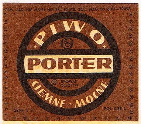 Browar Olsztyn Porter 1