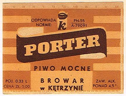Browar wKętrzynie Porter 1