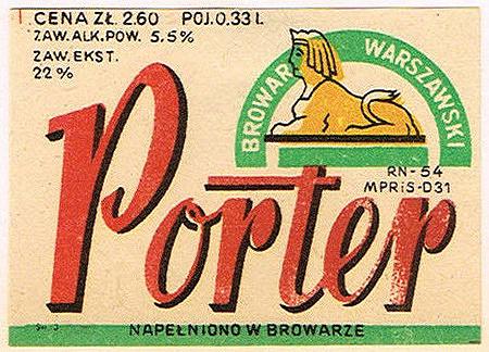 Browar Warszawa Porter 1