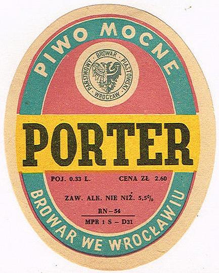Browar Wrocław Porter 4