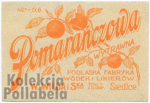 Pomarańczowa W