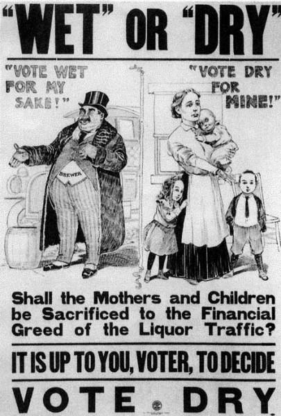 Prohibicja plakat