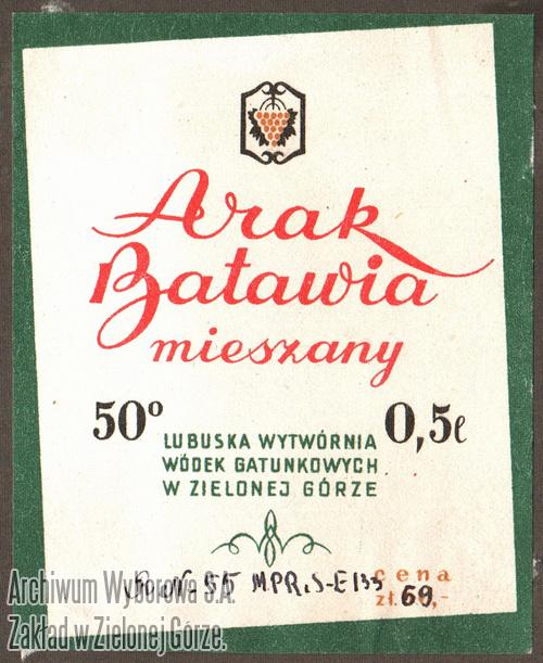 Arak Batawia - WyborowaW