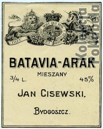 Batavia-Arak Jan CisewskiW